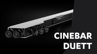 Cinebar Duett – schlanker HDMI-Soundbar mit Wireless Subwoofer