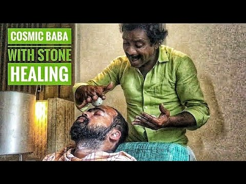 COSMIC BABA'S GREATEST FACE MASSAGE (Stone Healing Cosmic)| Baba in Bombay 4.0 | ASMR