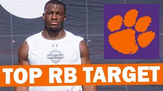 Can Clemson Beat Out Georgia For Top RB Target Branson Robinson?
