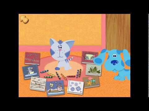 Chalk Art & Storytime | Blue's Art Time Activities (Part 4)