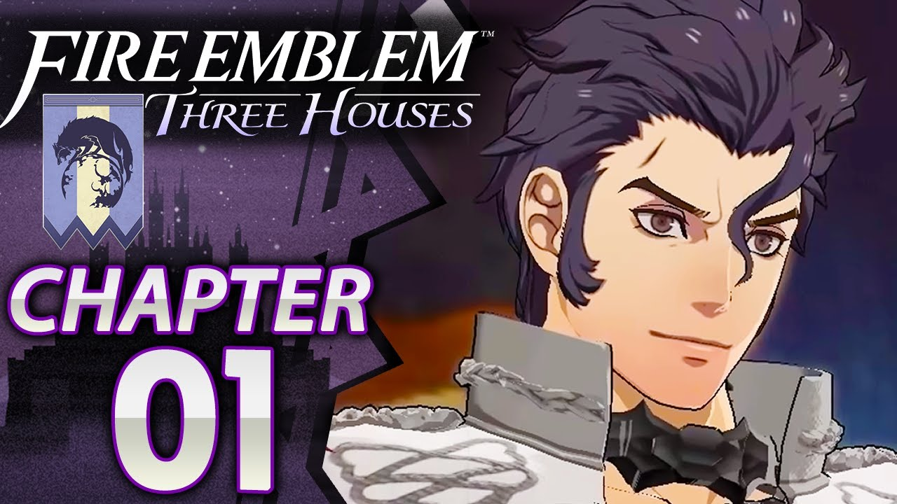 list of fire emblem three houses chapters