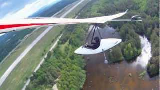 EGO TRIKE WITH ATOS, ELECTRO VERSION ,THERMAL FLIGHT MAY 2012