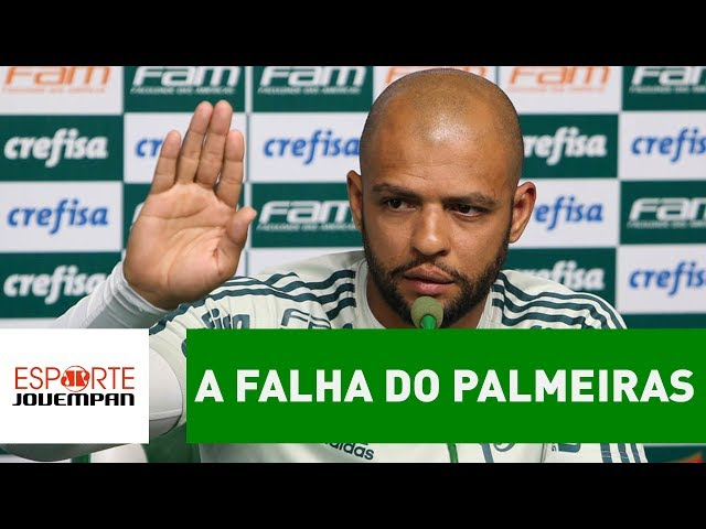 Análise: a falha do Palmeiras por trás do caso FELIPE MELO!