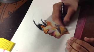 DRAWING ABRAM WITH SHAHRUKH (TIME LAPSED) ck!