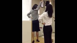 小島智子即興チアリーディングレクチャー