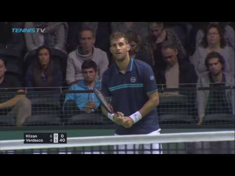 Another glorious Klizan right-handed tank down set point