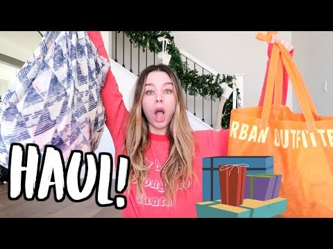 Download Youtube: HAUL! Urban Outfitters + Free People! VLOGMAS DAY 6!