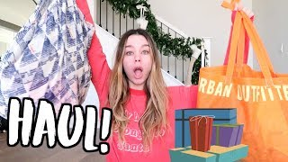 HAUL! Urban Outfitters + Free People! VLOGMAS DAY 6!