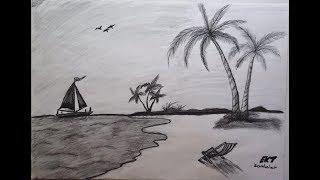 Manzara Resmi çizimi Kolay видео смотреть онлайн