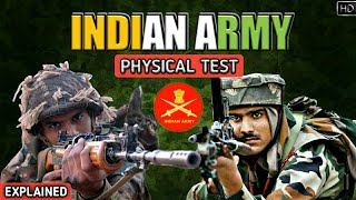 Indian Army Physical Test - How To Join Indian Army | Physical Fitness Tests - Explained (Hindi)