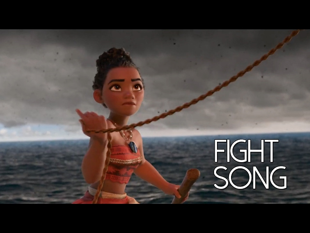 Moana fight song (was, were practice)