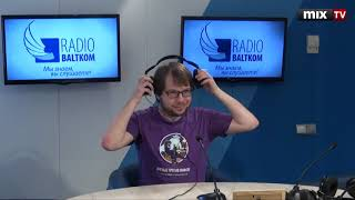 Российский популяризатор науки Александр Панчин в программе 'Встретились, поговорили' #MIXTV