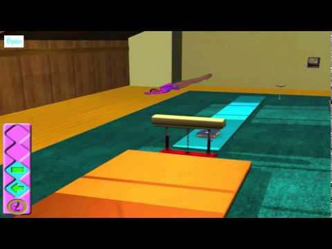 Скачать игру барби-спортивная гимнастка