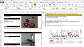 EAF# 57  - Use Excel to Add Pictures to your Strength Template