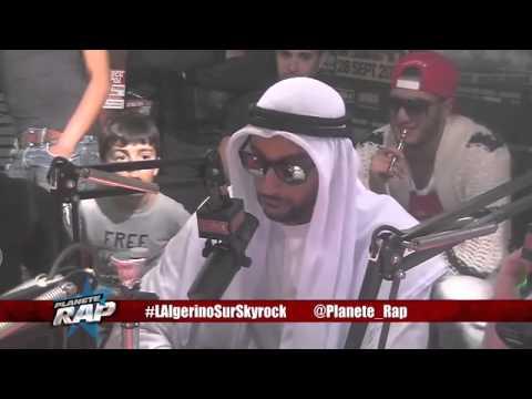 Prince Temenik Il - L'Algerino- Freestyle Planète Rap