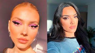 КРАСИВЫЙ ТРЕНДОВЫЙ МАКИЯЖ ИНСТАГРАМ 2020 BEAUTIFUL MAKEUP Лучшая подборка макияжа глаз и губ 6