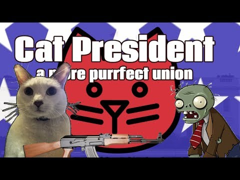DEFEATING A ZOMBIE INVASION? | Cat President: A More Purrfect Union | DJ Nibble's Route