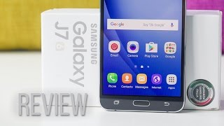 samsung Galaxy J7 (2016) Hands On Review Bangla