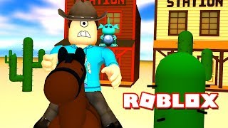 ESCAPE THE WILD WEST OBBY IN ROBLOX! | MicroGuardian