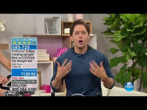 HSN | ProForm Fitness featuring X Bike 02.09.2018 - 07 PM