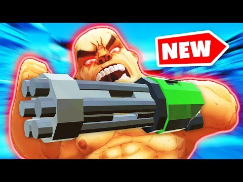 THE FASTEST FIRING CHAMPION IN GORN VR (GORN Virtual Reality HTC Vive Funny Gameplay)