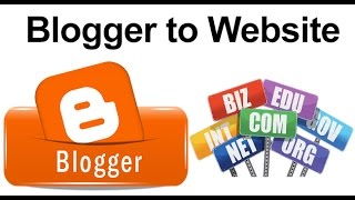 Repeat youtube video How To Convert Blogspot As A Professional Website