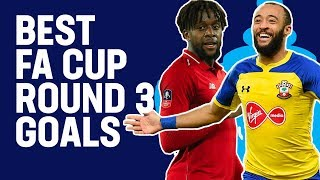 Last-Gasp Equalisers, Wonder Goals & Screamers | Best Goals From Round 3 | Emirates FA Cup 18/19