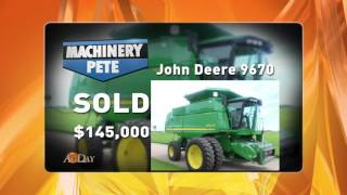 Machinery Pete Ag Day TV Segment 11/7/16: November Great Time to Sell