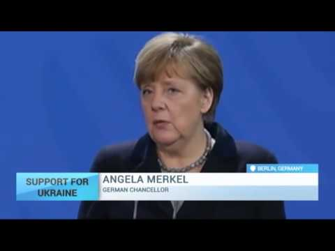 Merkel sees no reasons for lifting sanctions against Russia.