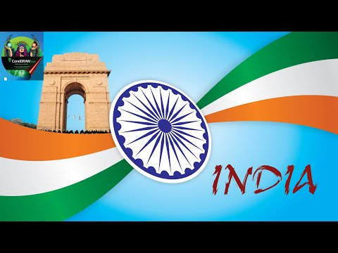 Corel Draw Tutorial | How To Make Indian Flag In CorelDraw | Indian Flag Kaise Banaye