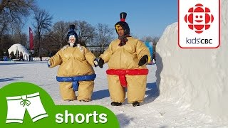 Watch This Epic Icy Sumo Showdown! - Kids' CBC