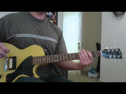 """How to play """" Goodbye Babylon """" by The Black Keys- Lesson - Tutorial"""