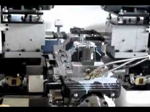 Twin side 6 axis special purpose machine