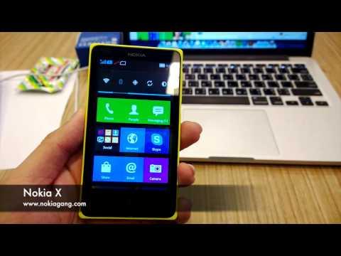 Hands-on Nokia X รุ่นใหม่ พร้อมใช้แอพฯ Android