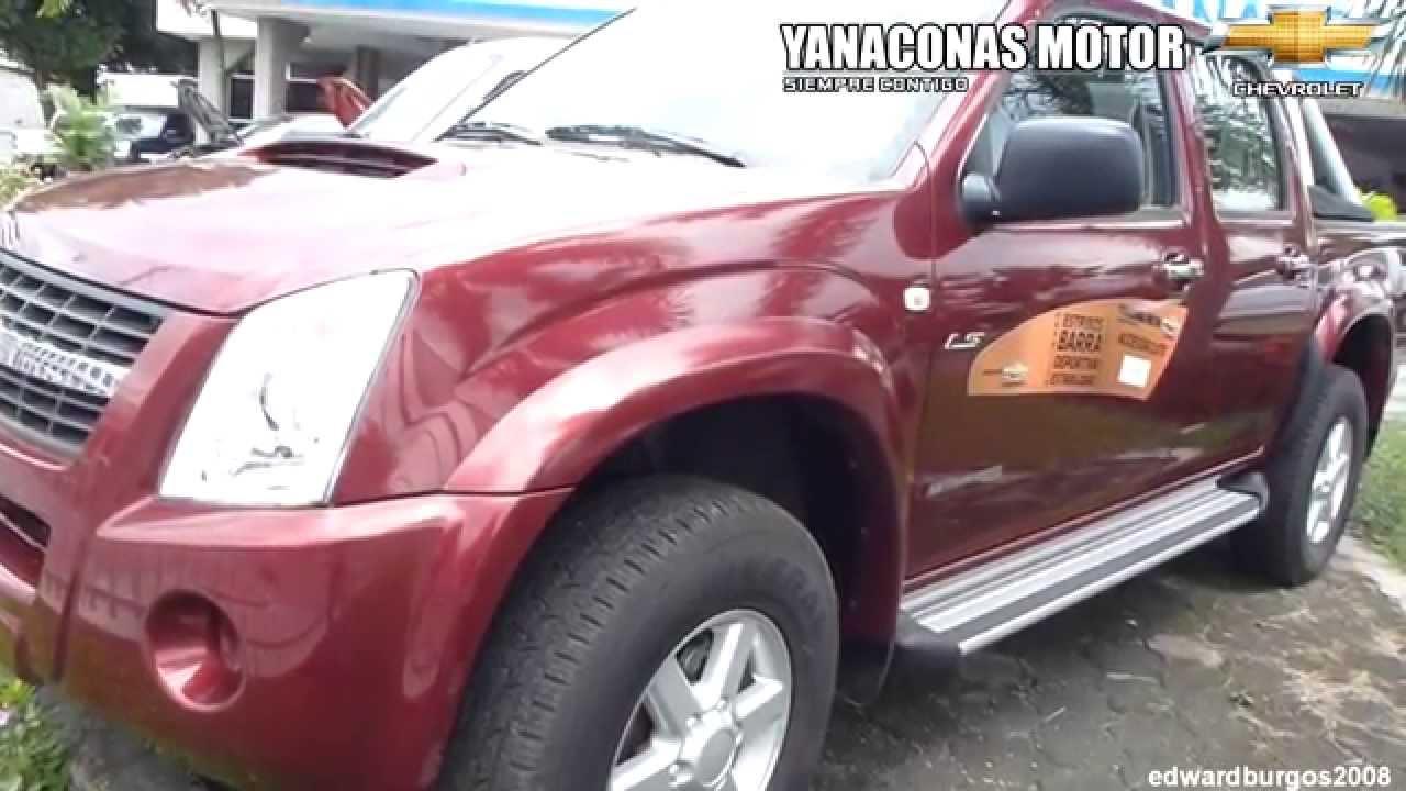 Chevrolet luv dmax 4x4 2012 al 2013