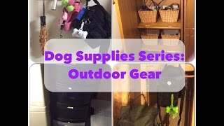 Dog Supplies Series 2: Outdoor Gear