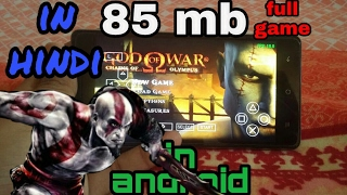 [ 85 mb] !!! How to download GOD OF WAR :chains of olympus on android with proof!!!  must watch