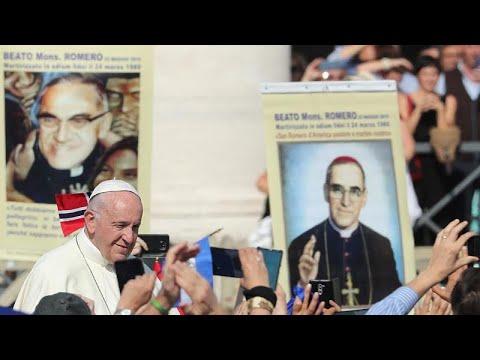 Murdered Salvadoran Archbishop Oscar Romero made a saint