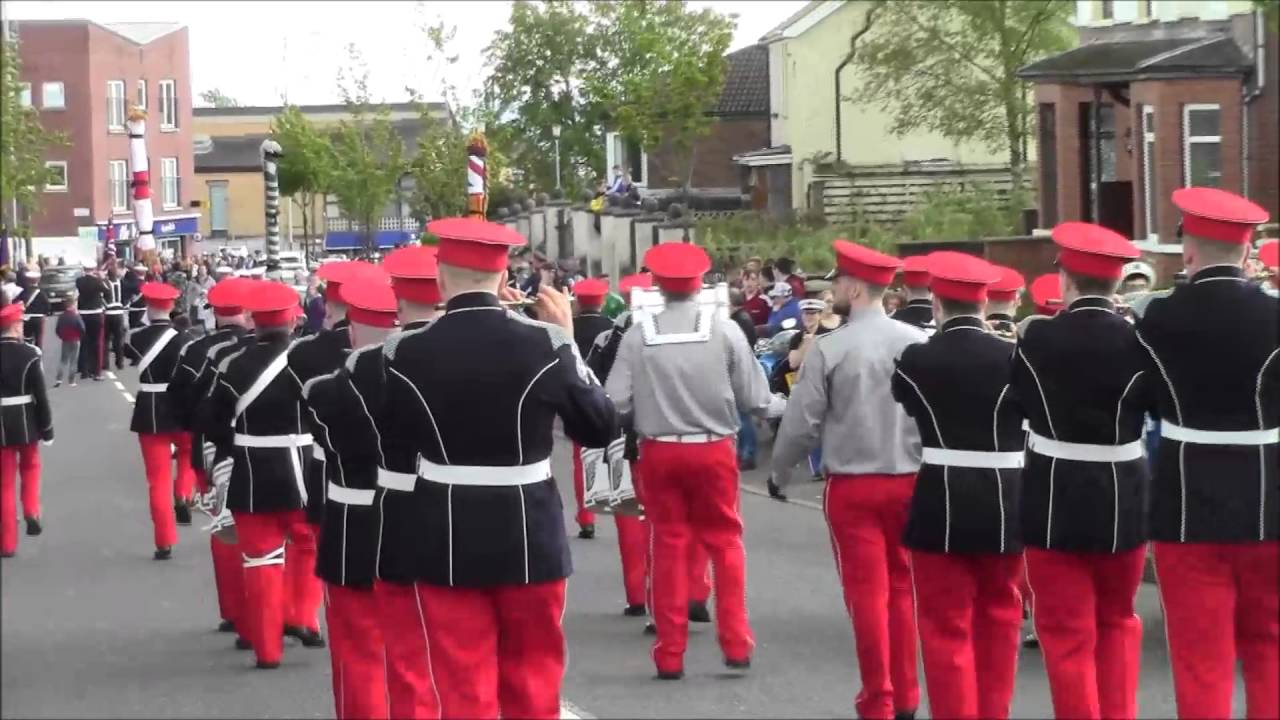 Ass Parade Images sons of ulster shankill pt2 @36th ulster regimental bands ass parade 2016
