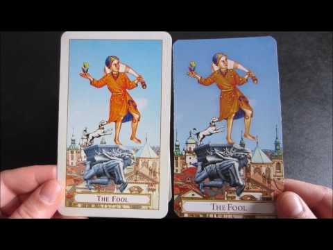 Repeat Tarot of Prague 1st & 3rd Edition Comparison by Evie