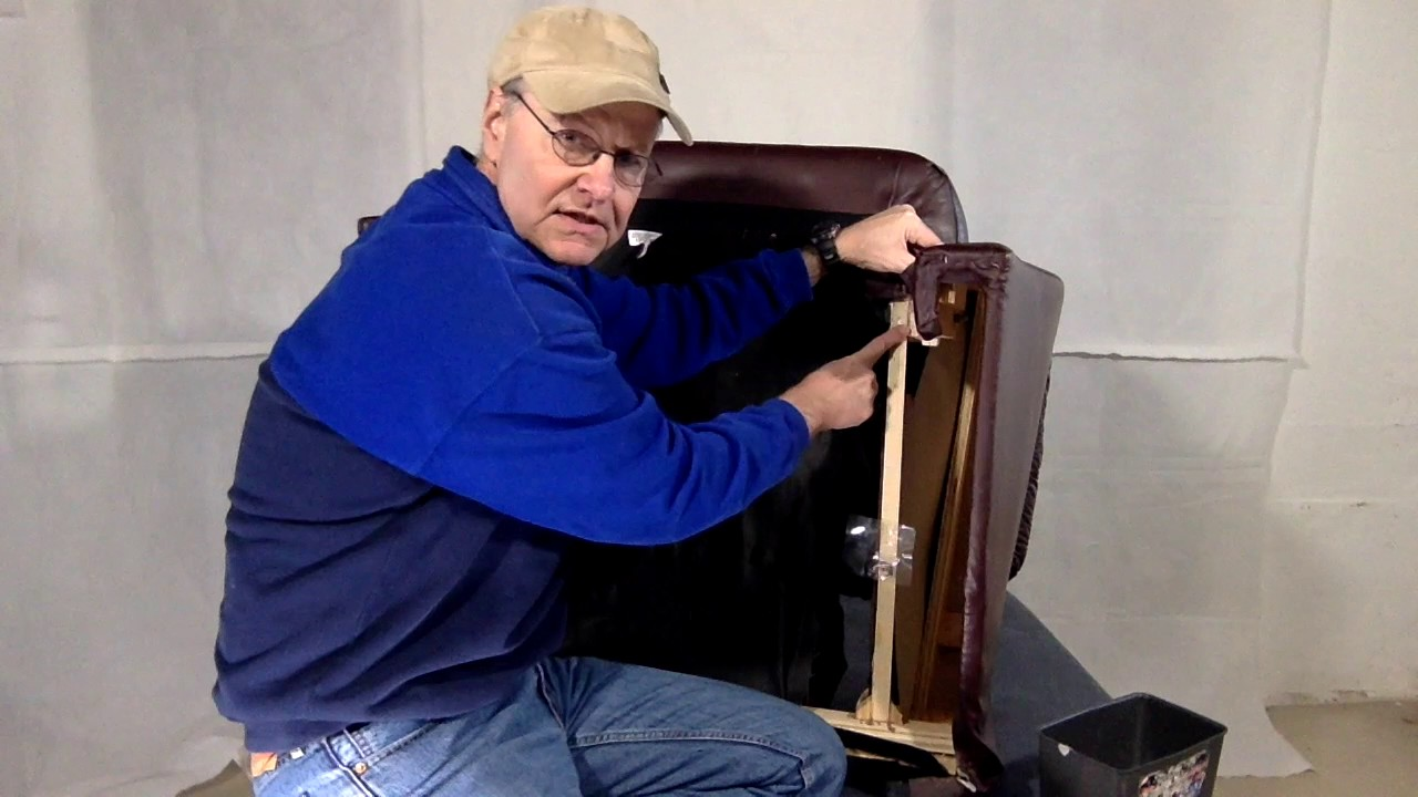 How To Repair A Loose Lane Recliner Arm Youtube
