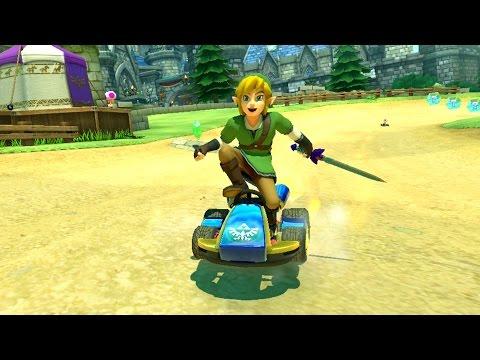 Mario Kart 8 - Grand Prix - Triforce Cup
