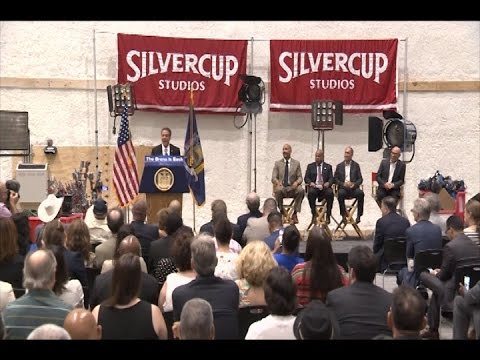 Governor Cuomo Announces Silvercup Studios Expands in the Bronx