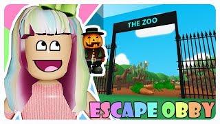 """Escape from the 😄 ZOO"" | Roblox Escape Obby Indonesia"