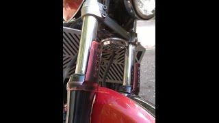 Мухобойка (дефлектор)  на мотоцикл из металла