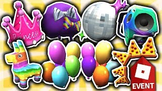 HOW TO GET ALL 7 PRIZES in PIZZA PARTY EVENT 2019!! (Roblox)
