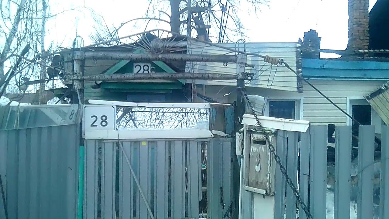 В Похвистнево у пенсионера сгорела крыша дома