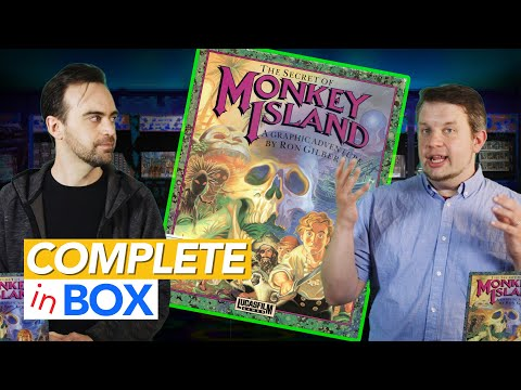 The Secrets of Monkey Island's Box - Complete in Box