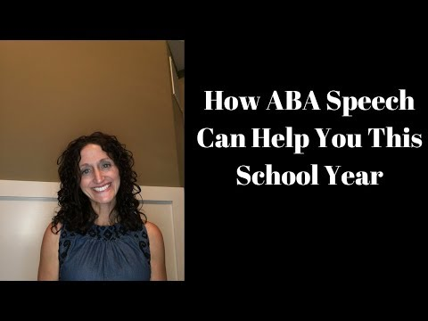How ABA Speech Can Help