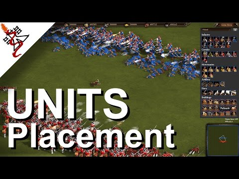 Cossacks 3 - UNITS Placement | Map Editor Guide